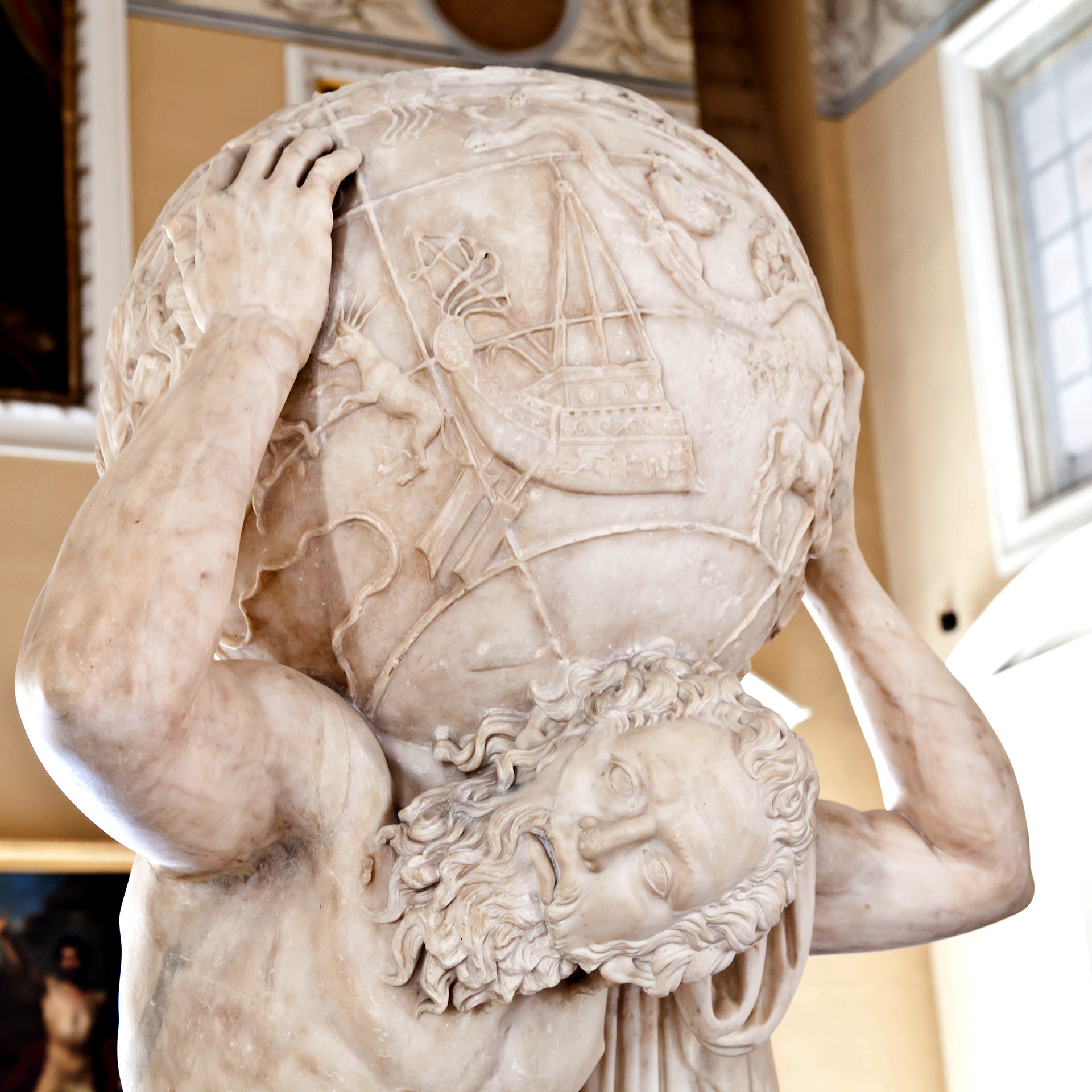 Atlante_Farnese_MuseoArchNaz_Napoli