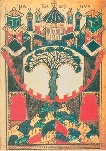 2239.Paradiso dal Liber Floridus
